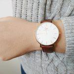 ダニエルウェリントン・レディース腕時計がオシャレ可愛い!大人女子腕時計